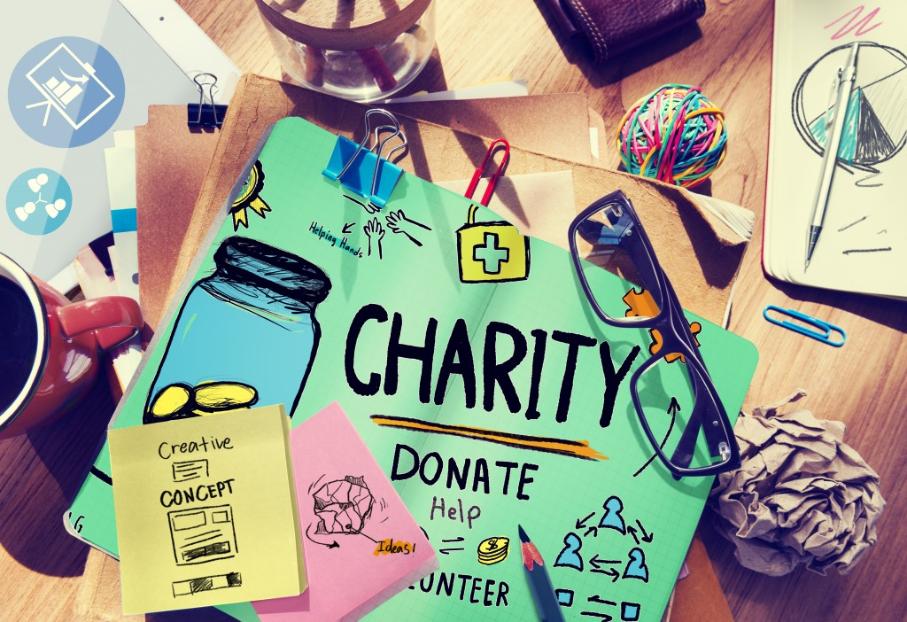 Charity Donate Help Saving Sharing Support Volunteer Concept