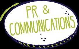PR & Communications graphic