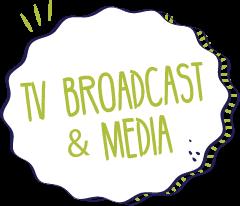 TV Broadcast & Media Graphic