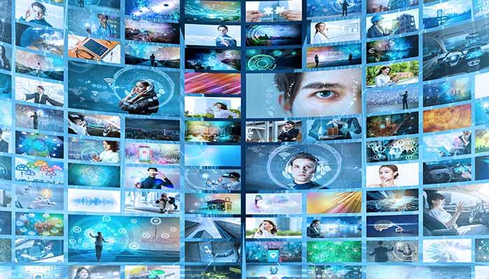 TV Media Wall